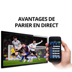 avantages parier direct football